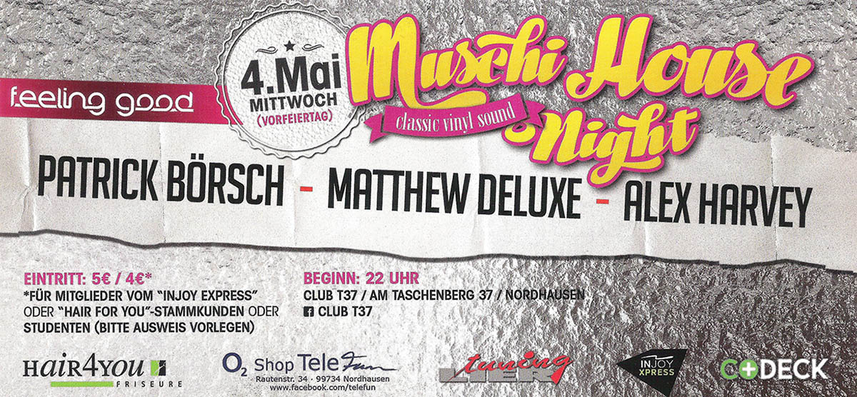 Muschi Night im Club T37