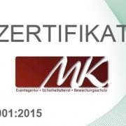 Zertifikat ISO 9001_2015 MK-Agentur